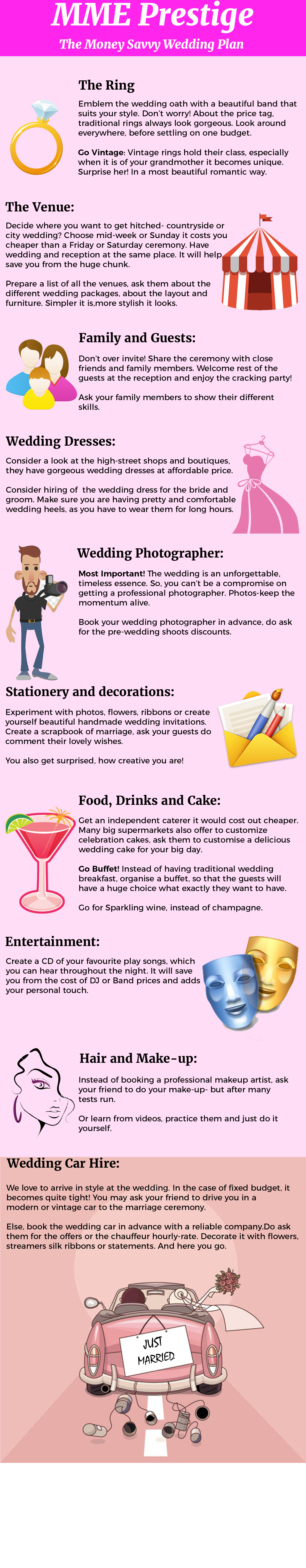The money savvy wedding plan guide wedding the money savvy wedding plan guide infographic solutioingenieria Image collections